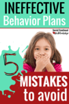 Behavior Plan Mistakes Pin