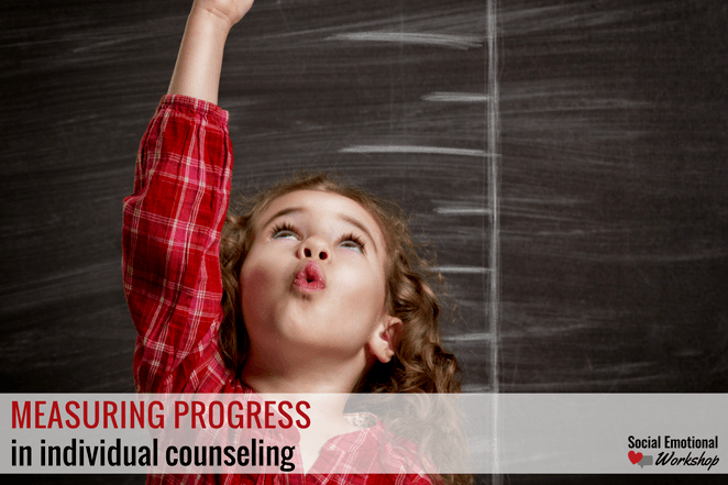 measuring progress in individual counseling girl standing up
