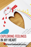 In my heart is a perfect book for exploring feelings. Great for social emotional learning lessons and read alouds. Try three three In My Heart Book activities to stretch the book and get students engaging with the material. Students will be able to identify feelings, express when feelings happen, and describe their feelings.