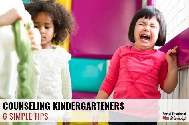 tips for easy counseling with kindergartners