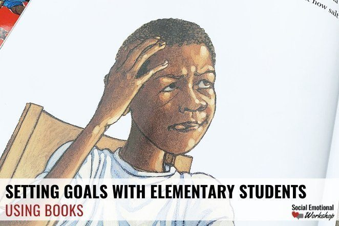 Setting goals with students using books