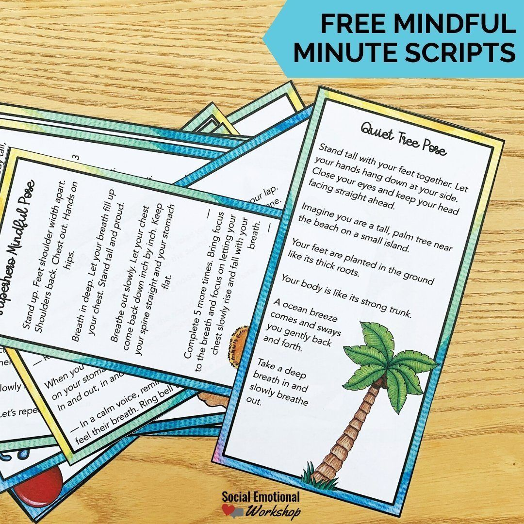 Mindful Minutes Scripts