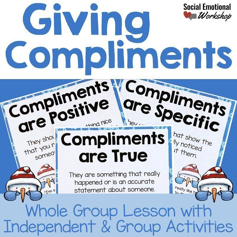giving compliments activity and lesson