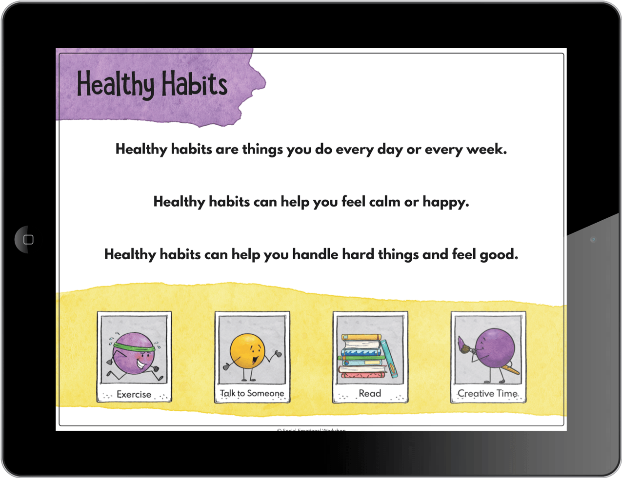 Healthy Habits Activity