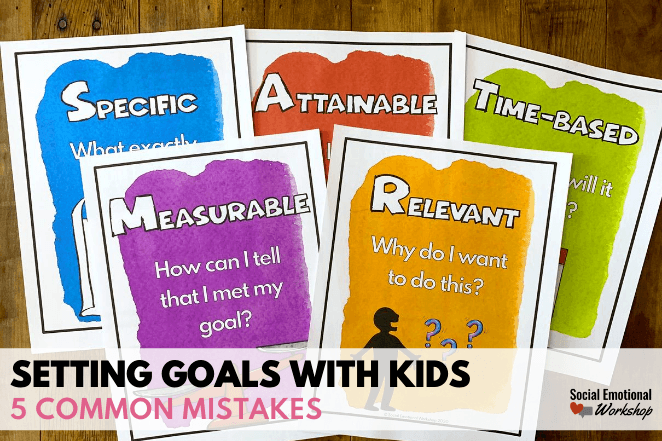 Mistakes We Make When Setting Goals with Kids