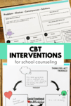 CBT Activities for School Counseling