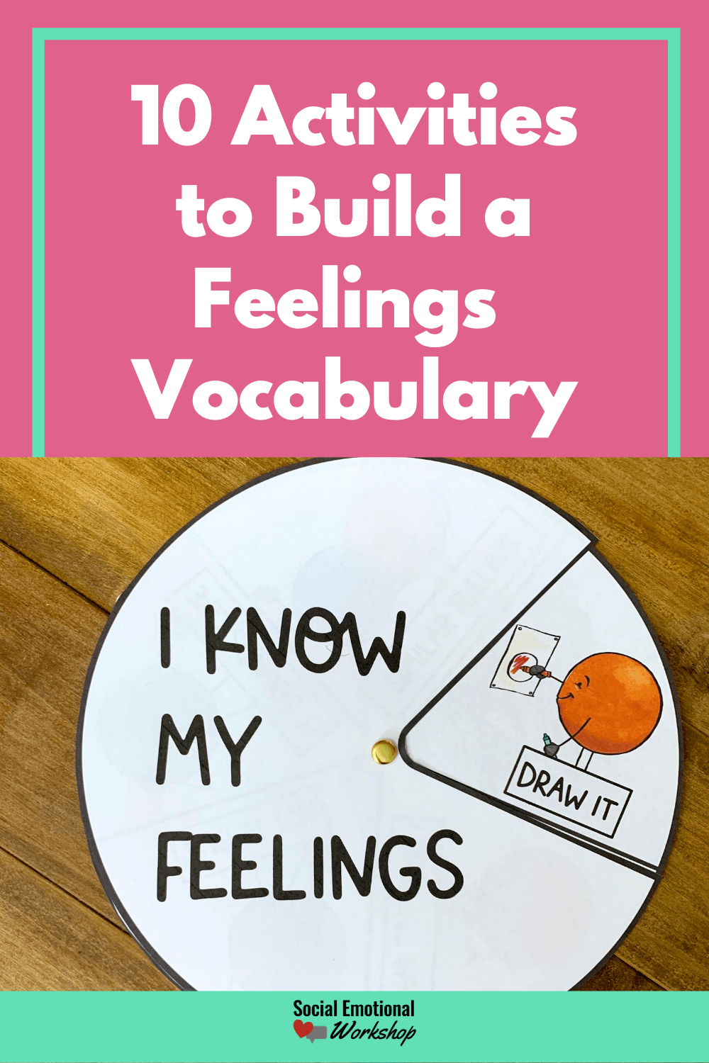 Feelings Vocabulary Activities