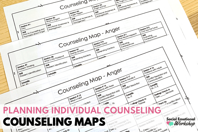 Counseling Maps for Individual School Counseling Sessions